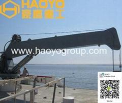 4T 5m直臂船用起重机