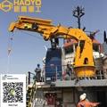 1 ton/21.5m Folding Marine Deck Crane for Ship/Boat/Barge Ship 1