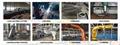 1 ton/21.5m Folding Marine Deck Crane for Ship/Boat/Barge Ship 8