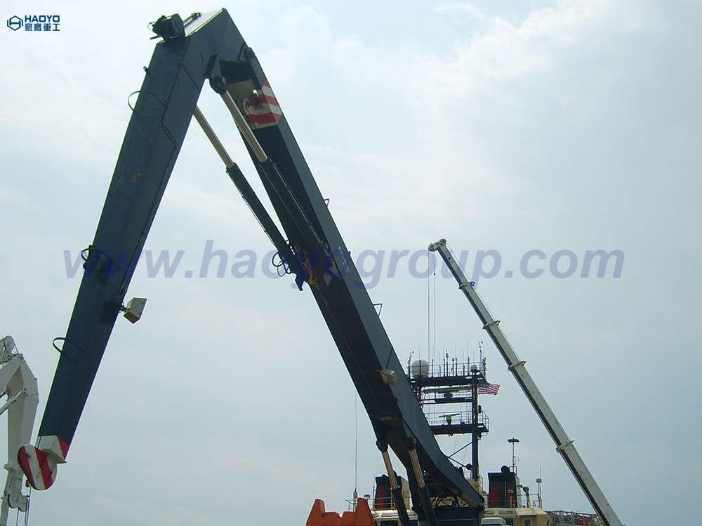 定製半折臂船用甲板起重機工廠價 1