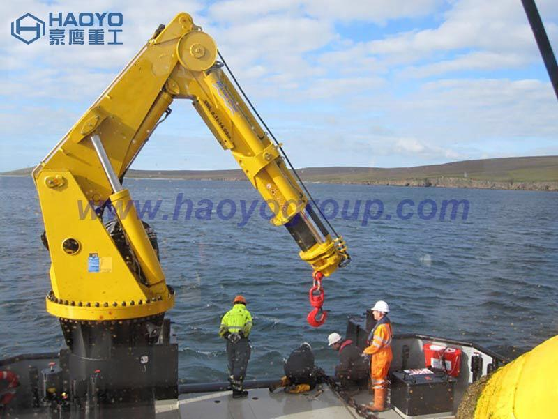 Ship Knuckle Boom Crane with Imported Main Parts 2