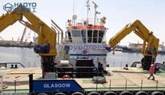 1 ton /2 ton/3 ton Ship Knuckle Boom Crane for Cargo Ship/barge
