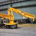 1.2ton/14.4m Folding Dock Ship Crane