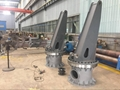 Small Knuckle Boom Marine Deck Offshore Crane for boat 8