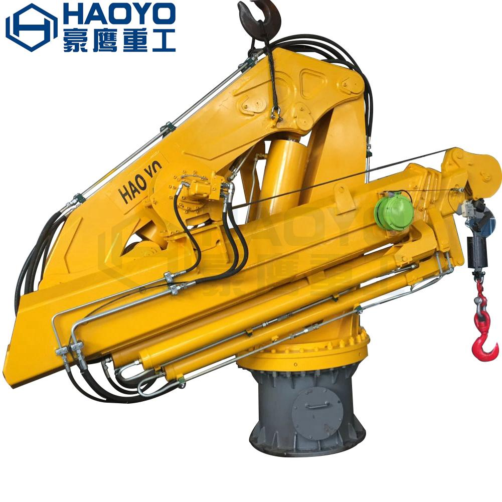 Most Popular CCS ABS Certificate Hydraulic or Electric Marine Ship Crane 1