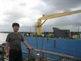 10吨液压直臂甲板船用起重机
