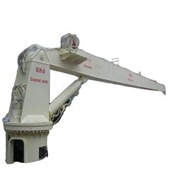 豪鷹直臂艇液壓船用起重機