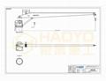HAOYO 1Ton 4M StiffBoom Boat Deck Crane 4