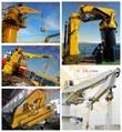HAOYO 1Ton 4M StiffBoom Boat Deck Crane 9