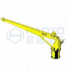 適用於貨船的直臂船用基座船起重機