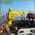10噸伸縮臂液壓甲板起重機
