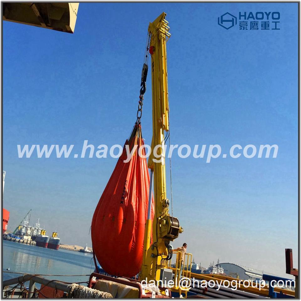 ABS/CCS/NK certificate Ship Hydraulic Telescopic Boom Crane 1