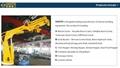 15 tonFoldingSmall BoatMarineElectric Hoist Crane 9