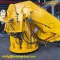 小型電動液壓船用折疊式起重機