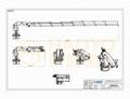 小型电动液压船用折叠式起重机