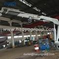 Foldable Boom Ship Crane Professional  manufacturer  2