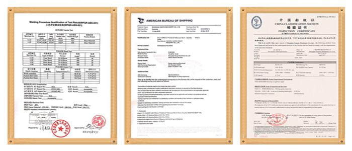 Foldable Boom Ship Crane Professional  manufacturer  5