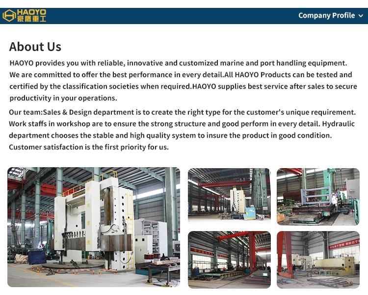 Foldable Boom Ship Crane Professional  manufacturer  8