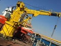 出售直臂船用起重机