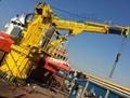 Fixed Marine Davit Boom Ship Crane for sale