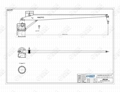 船用直臂吊機 甲板機械 3