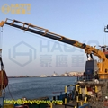 Remote Control Folding Marine Crane for Ship/Boat