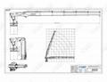 5.4噸/17.78米半折臂船用甲板起重機工廠價