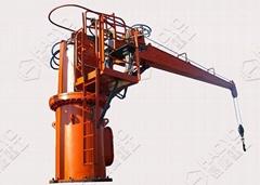 5吨13.5米船用直臂吊机全进口