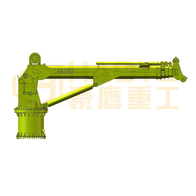 1.5t/30m Straight Telescopic Boom Marine Ship Crane 2
