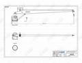 4T 5M Fixed Boom Marine Deck Crane