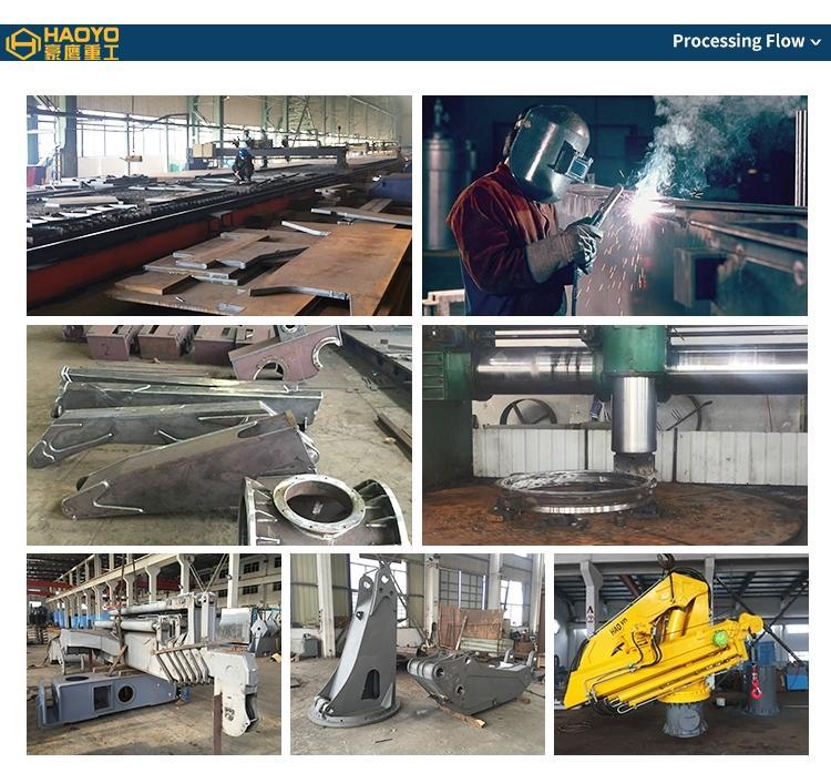 Shanghai HAOYO Ship Stiff Boom Factory for crane 8