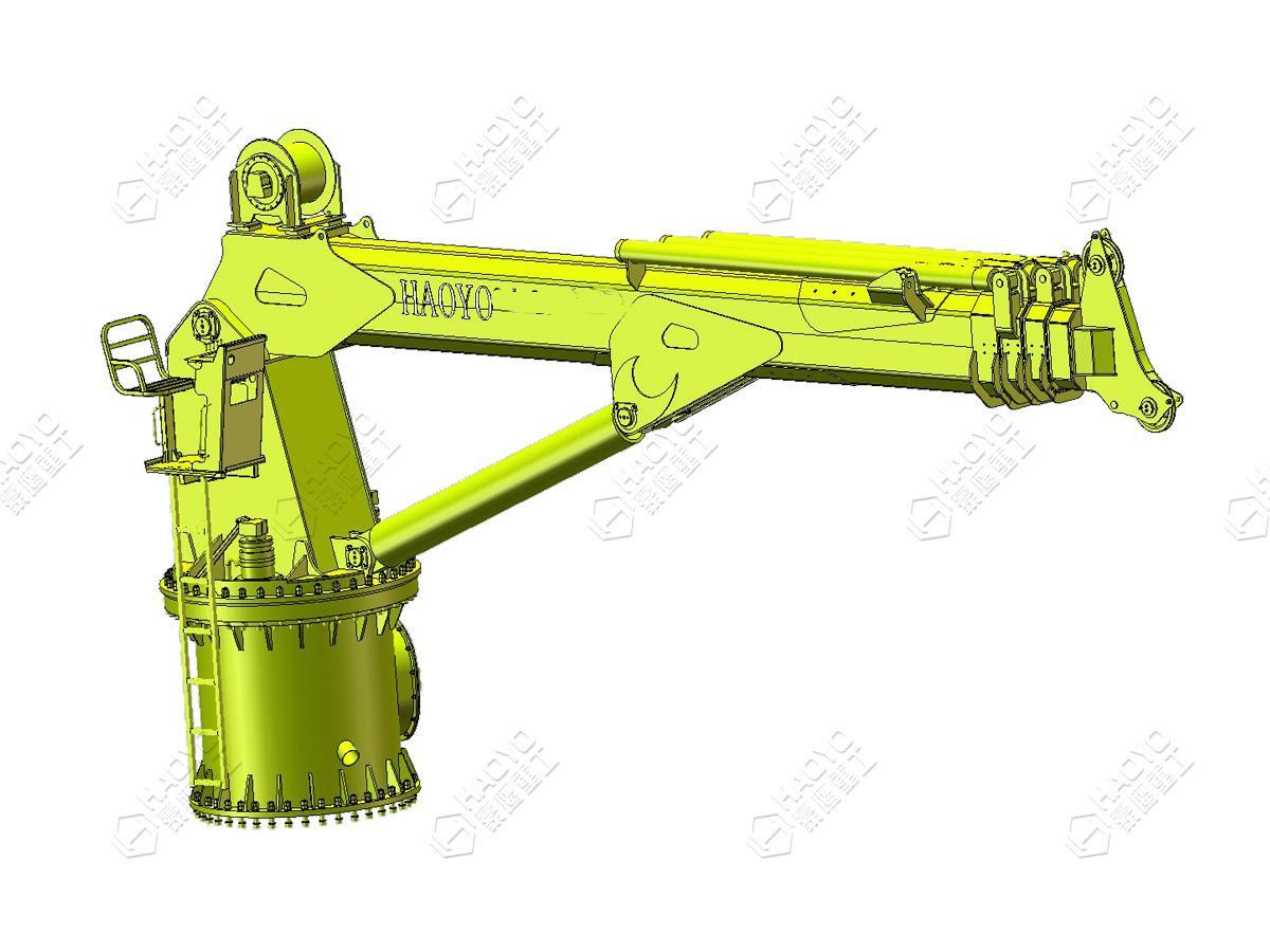 Portable Telescopic Boom Lift Make Hydraulic Crane 2