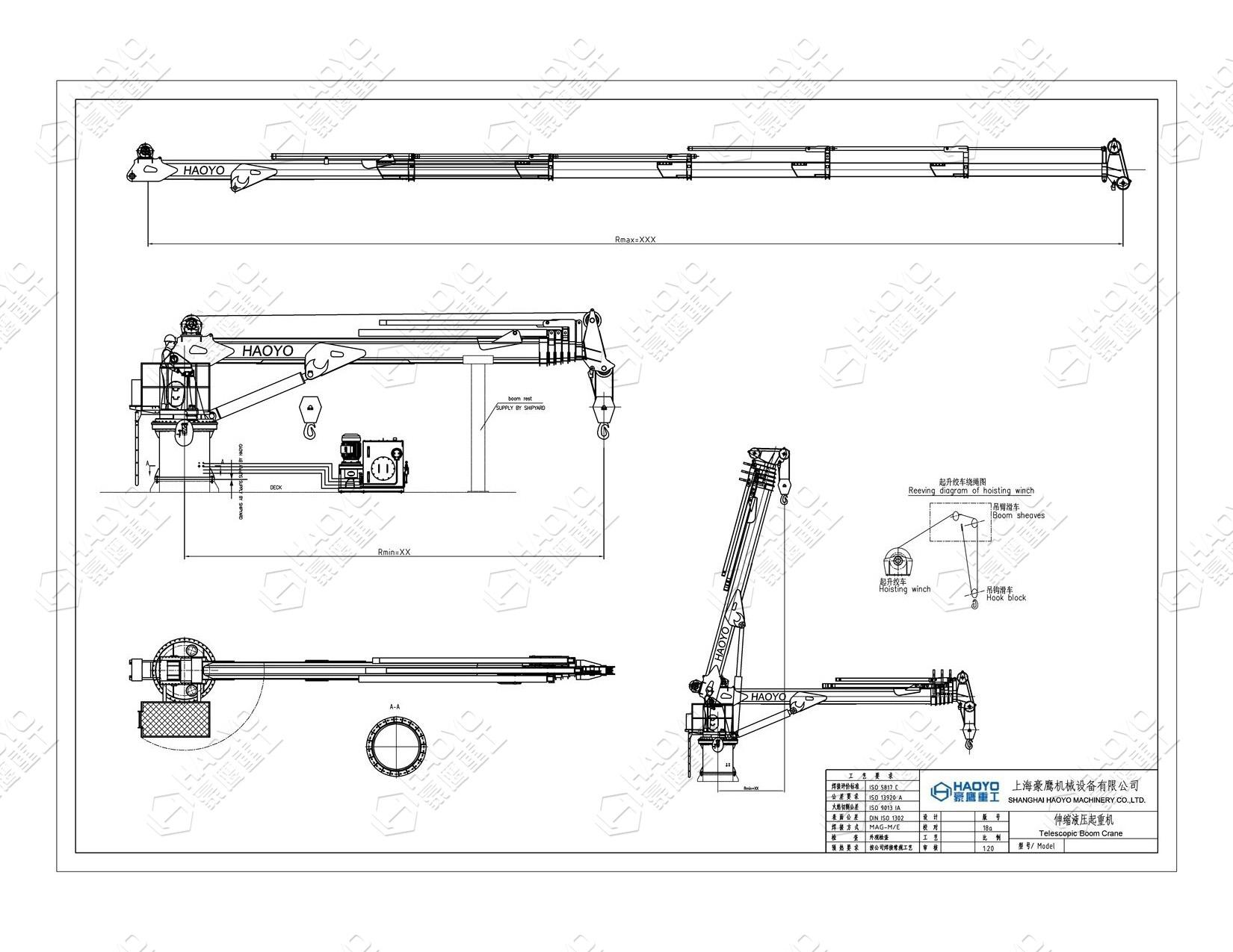 Hydraulic Biggest Mobile Telescopic Crane 4