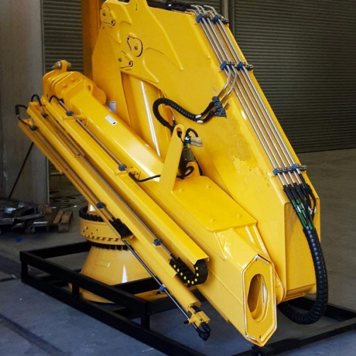 Hydraulic Mobile Foldable Boom Cranes  2