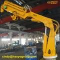 Hydraulic Mobile Foldable Boom Cranes  5