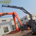 Hydraulic Mobile Foldable Boom Cranes  4
