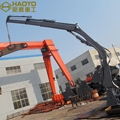 Hydraulic Mobile Foldable Boom Cranes