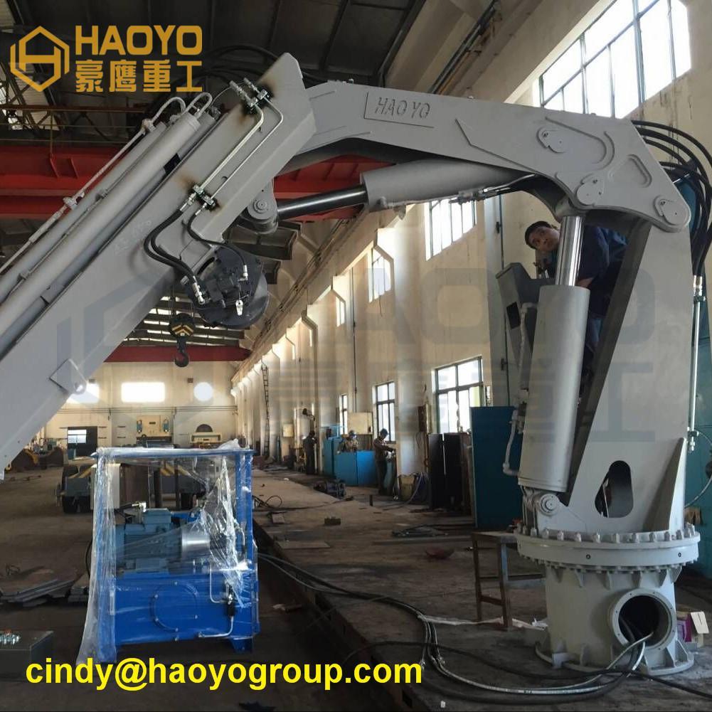 Hydraulic Mobile Foldable Boom Cranes  3