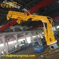 Foldable Knuckle Offshore Boom Cargo Hose Marine Deck Crane Price 1