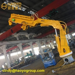 Foldable Boom Marine Deck Crane Price (Hot Product - 1*)