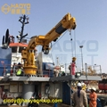 ABS/CCS Certificate Boat Crane manufacturer for all type ship
