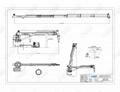 2T 8m Ship Hydraulic Telescopic Marine Crane 4