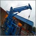 3T Ship Hydraulic Telescopic Boom Crane 2