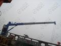 3T Ship Hydraulic Telescopic Boom Crane 3