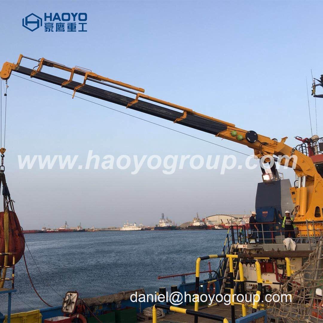 船用吊机 船用起重机供应商 6