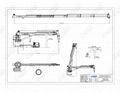 ABS/CCS/NK certificate Ship Hydraulic Telescopic Boom Crane 5