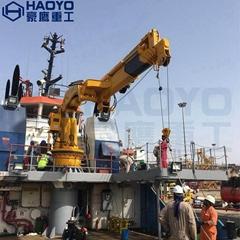 Shanghai HAOYO Cargo Ship Barge Telescopic Crane
