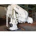 1ton Folding Telescopic Marine Ship Pedestal Deck Crane 3