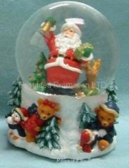 樹脂聖誕水球