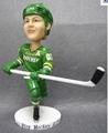 Resin hockey bobblehead